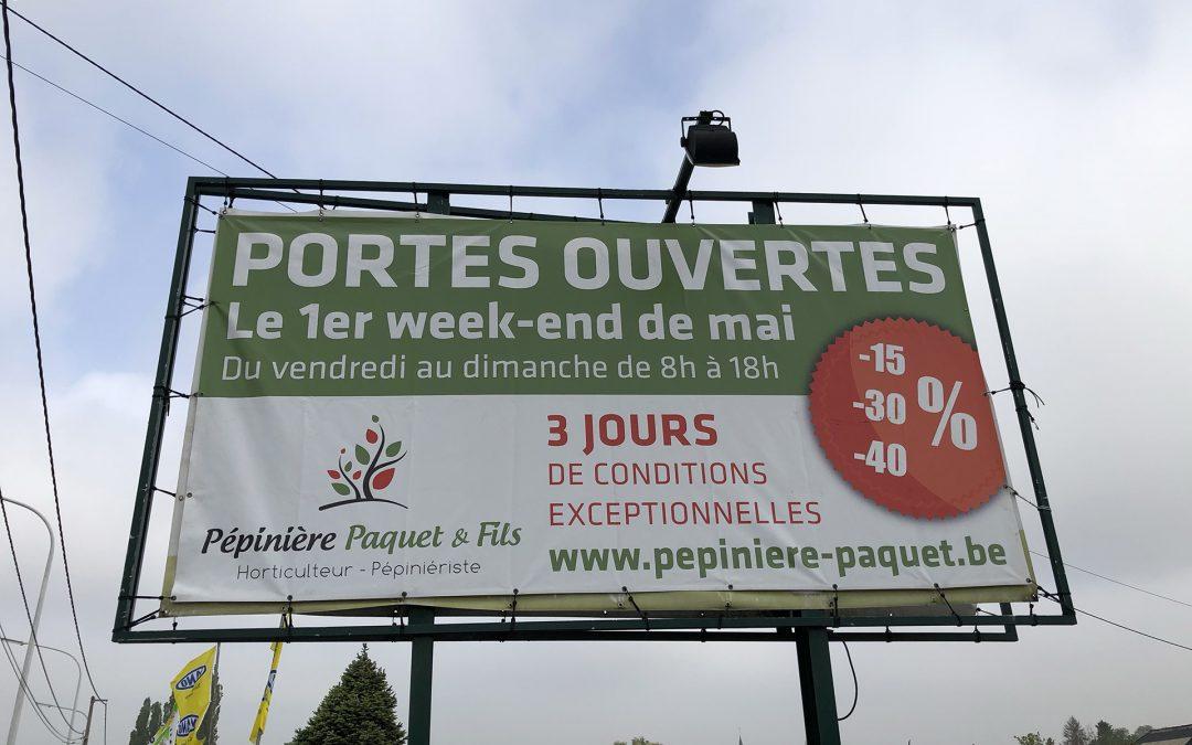 PORTES OUVERTES CE PREMIER WEEKEND DE MAI